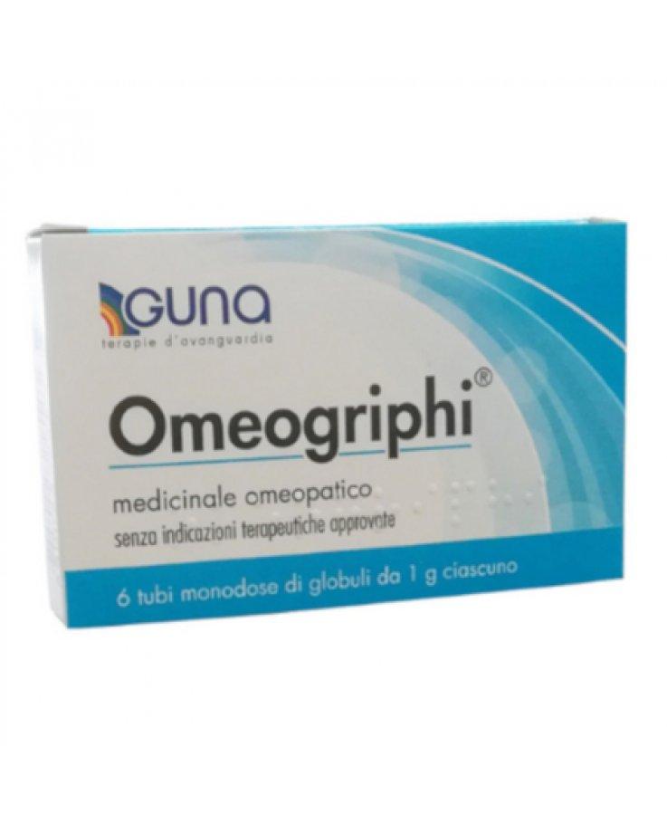 Omeogriphi Guna Globuli 6 Tubi 1g