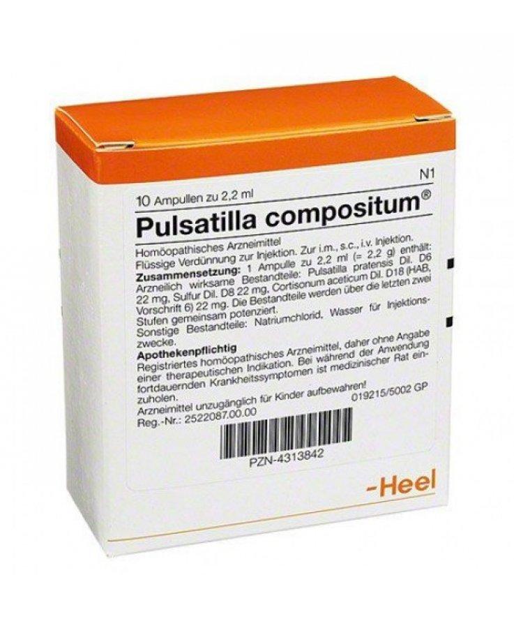 Pulsatilla Compositum 10 Flaconi 2,2ml Heel