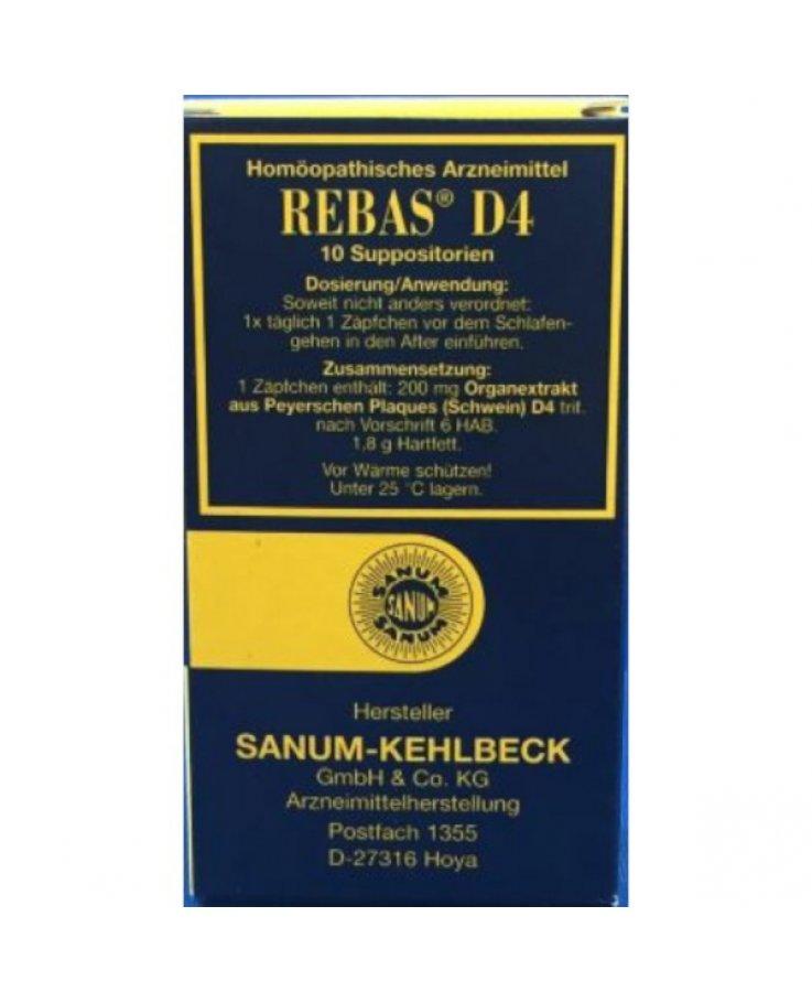 Rebas D4 10 Supposte
