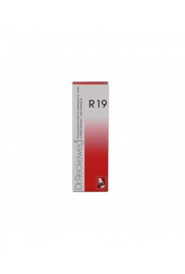 Reckeweg R19 Gocce 22ml