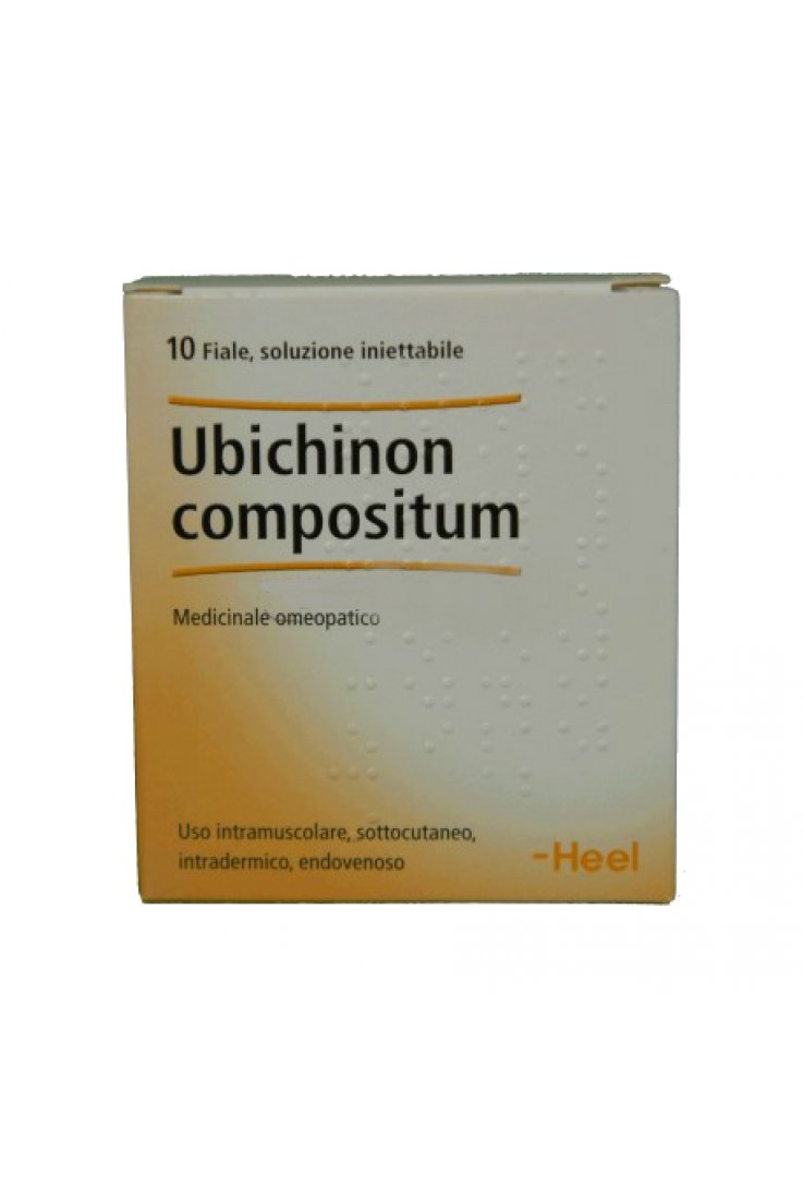 Ubichinon Compositum 10 Fiale 2,2ml Heel