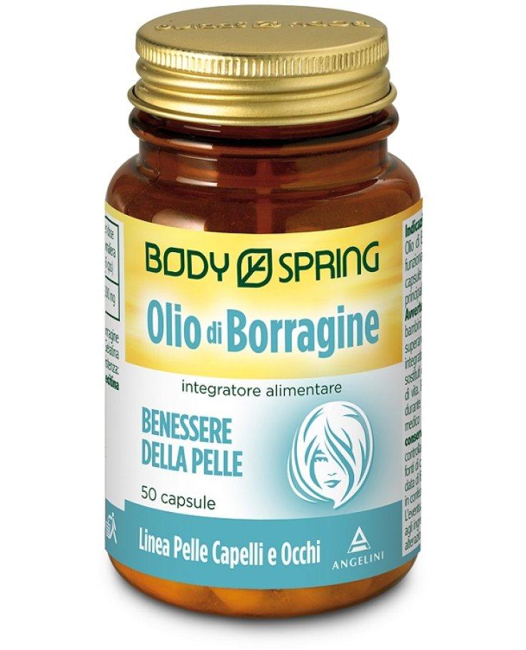 Body Spring Olio Borrag 50cps