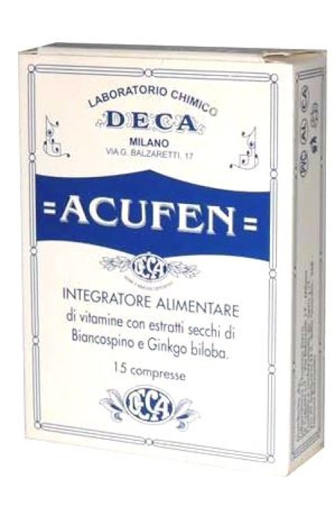 ACUFEN 600mg 15 Cpr