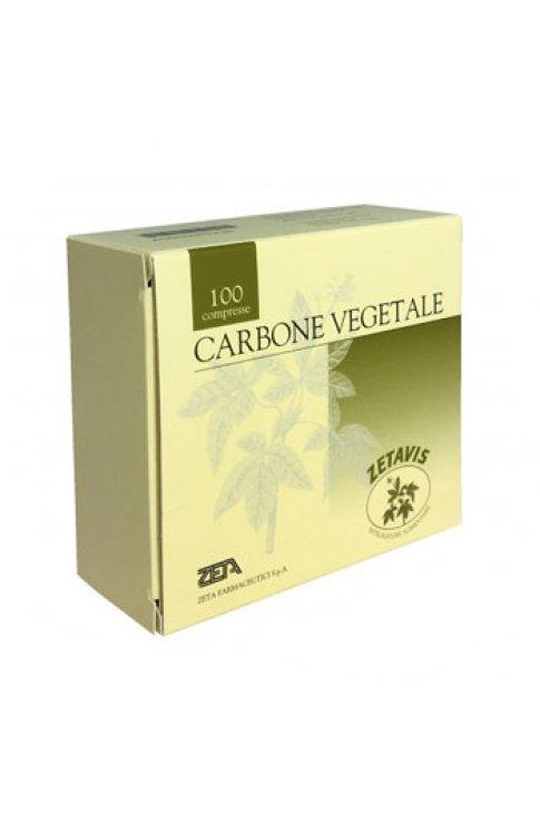 Carbone Vegetale 40 Compresse Zetavis
