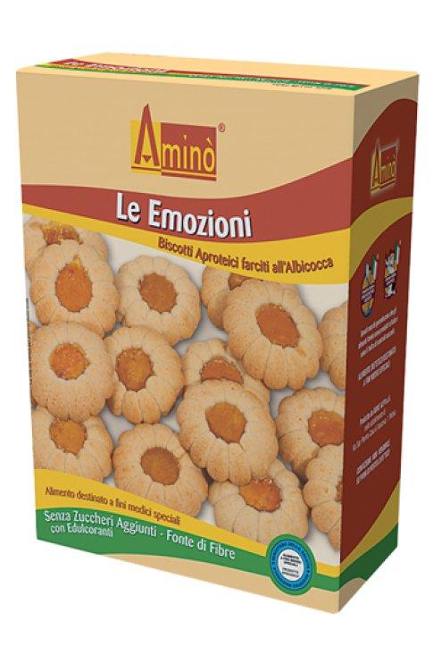 Aminò Aproteici Biscotti Emozioni Albicocca 250g