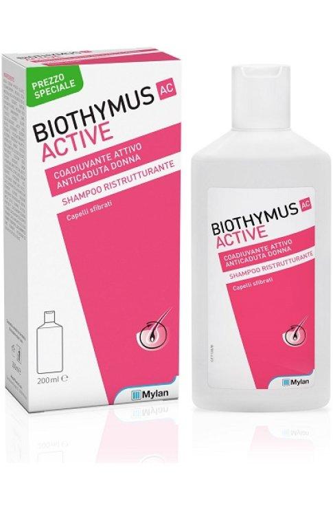 Biothymus Ac Active Shampoo Ristrutturante Donna