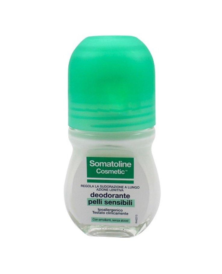 Somatoline Cosmetic Deodorante Pelli Sensibili Roll