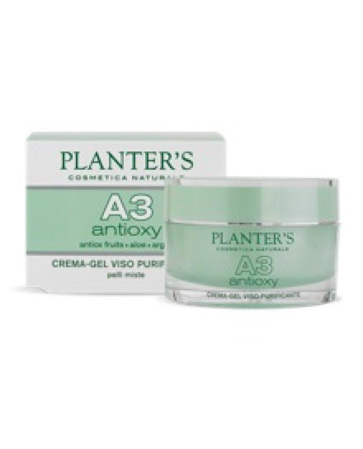 Planters 3a Crema Gel Viso Purificante 50ml