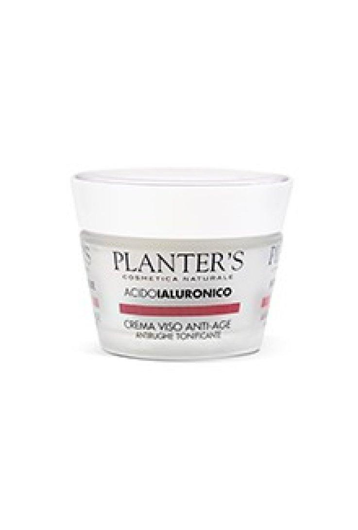 Planters Acido Ialuronico Crema Viso Anti Rughe