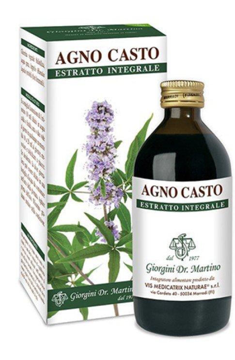Agno Casto Estratto Integrale 200ml SVS Giorgini