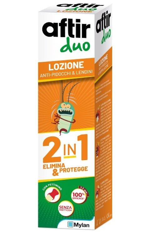 Aftir Duo Lozione Antipidocchi 100ml