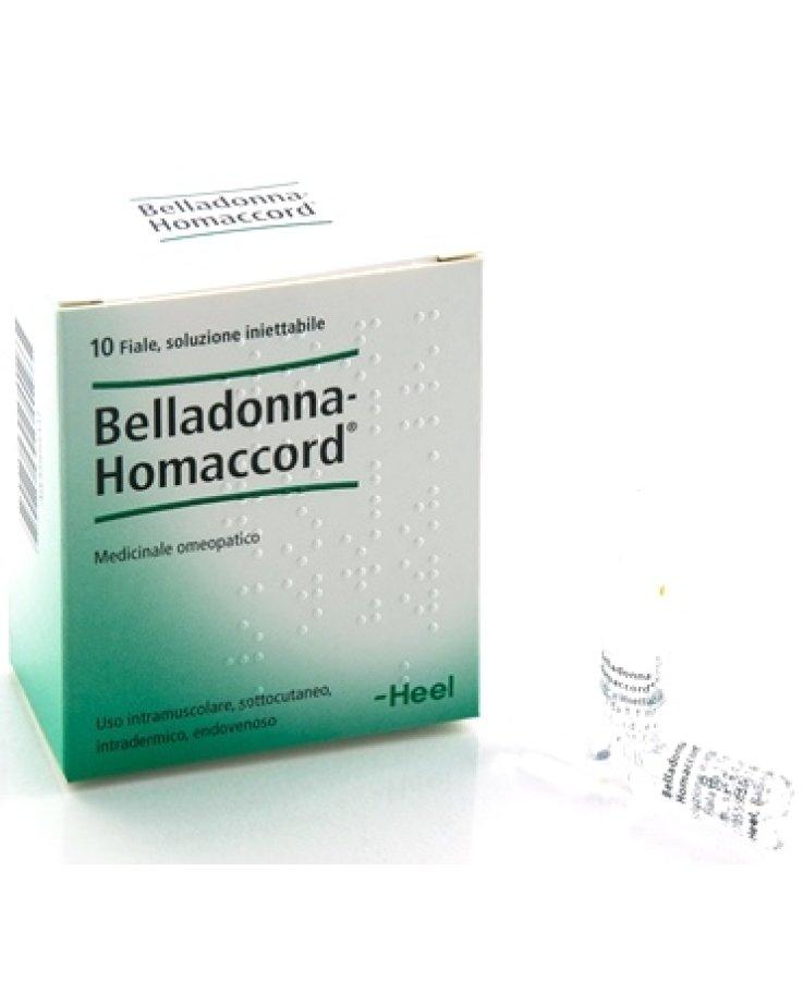 Belladonna Homaccord 10 Fiale 1,1 ml Heel