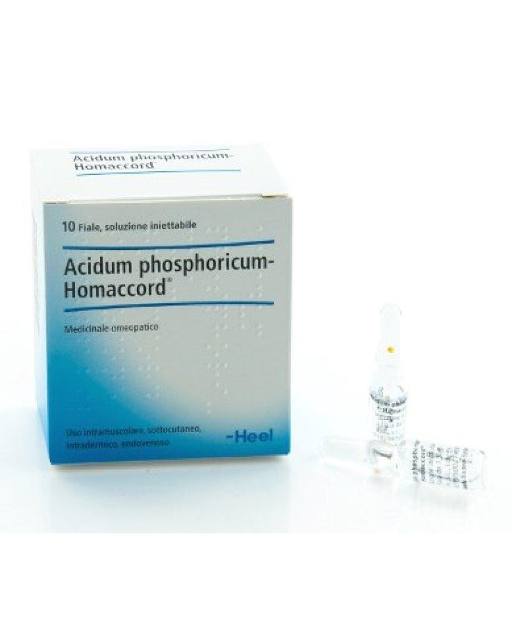 Acidum Phosphoricum Homaccord 10 Fiale Heel