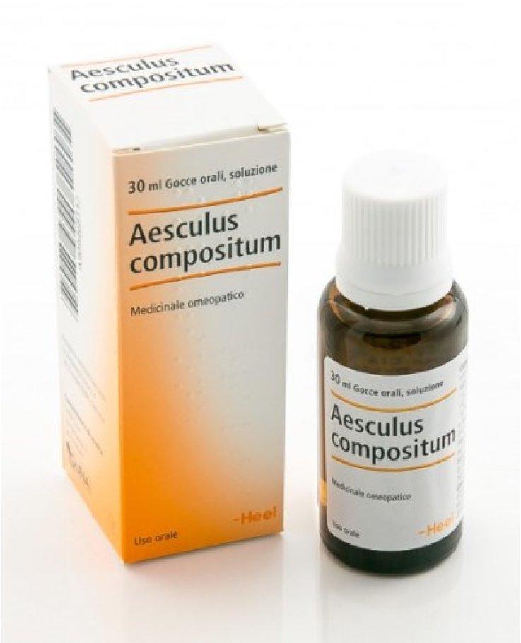 Aesculus Compositum 30ml Gocce Heel