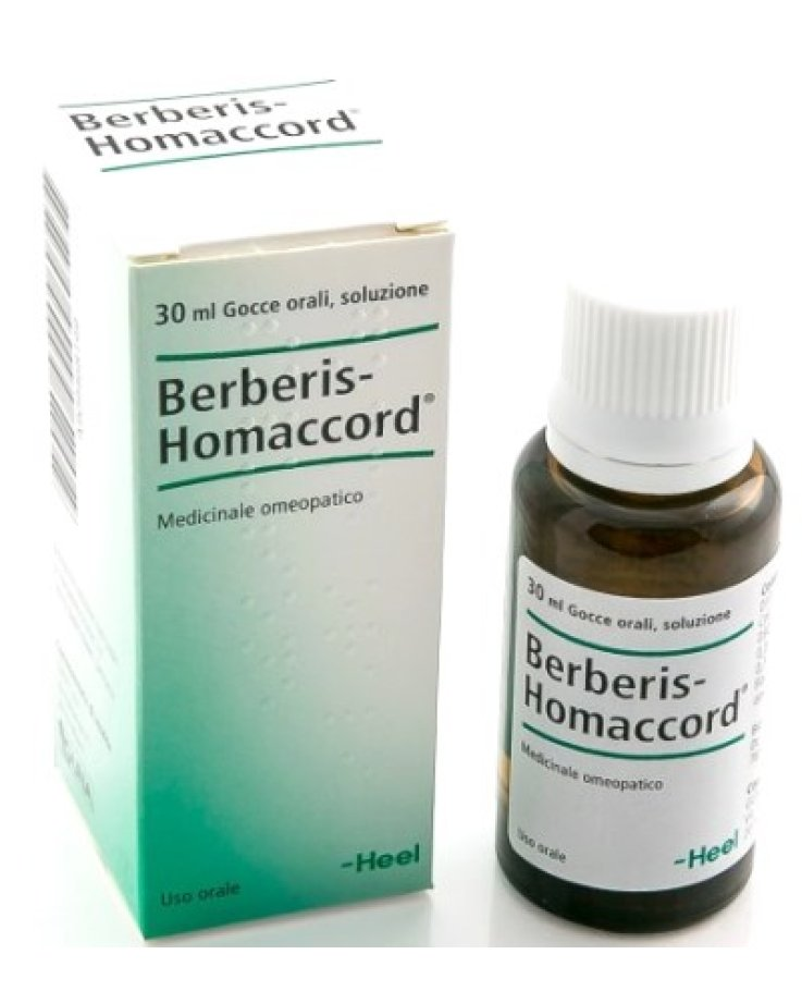 Berberis Homaccord 30ml Gocce Heel