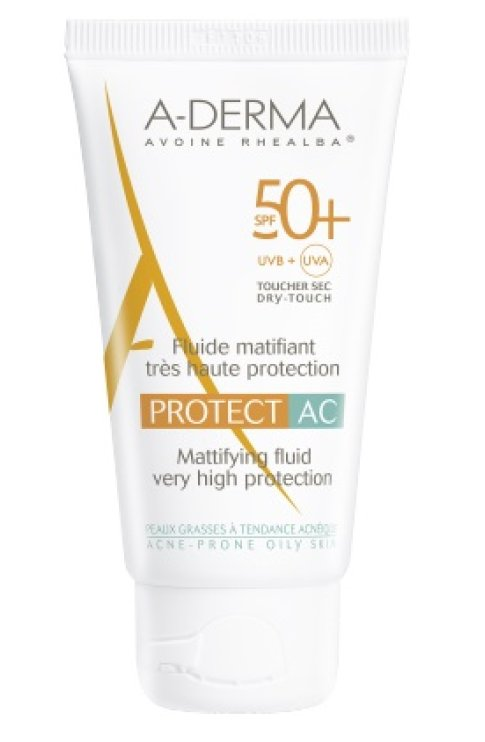 Aderma Protect A-C Fluido 50+