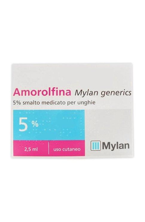 Amorolfina Smalto 2,5ml Mylan