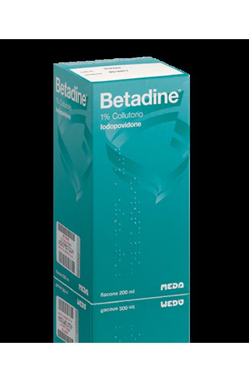 Betadine Collutorio Flacone 200ml 1%