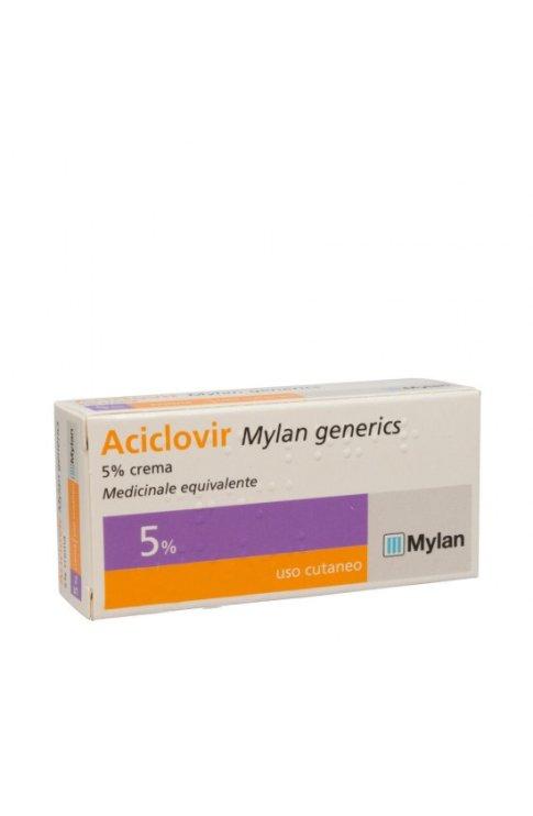 Aciclovir 5% Crema 3g Mylan (Herpes Labialis)