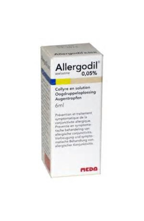 Allergodil Collirio Flacone 6ml 0,05%