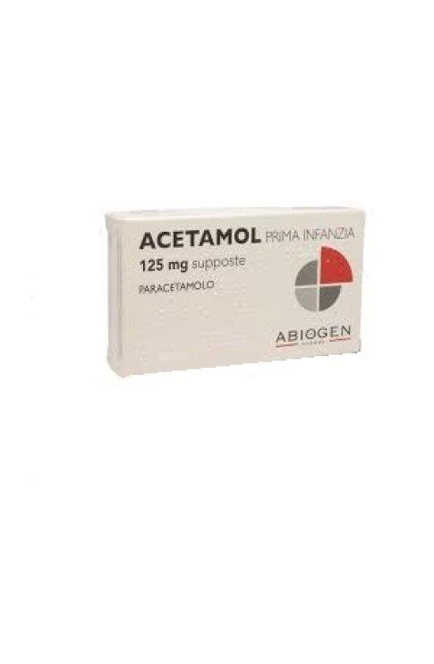 Acetamol*prima Inf10supp 125mg