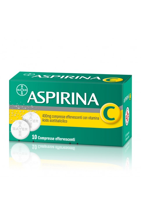 Aspirina C 400 + 240mg 10 Compresse Effervescenti