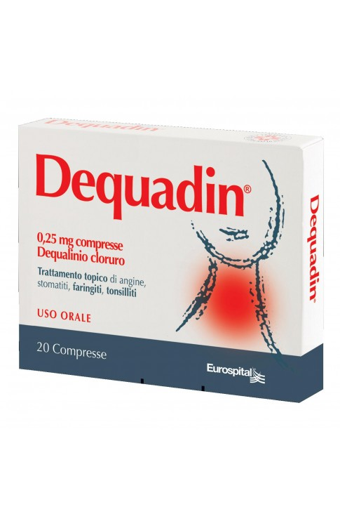 Dequadin*20cpr 0,25mg