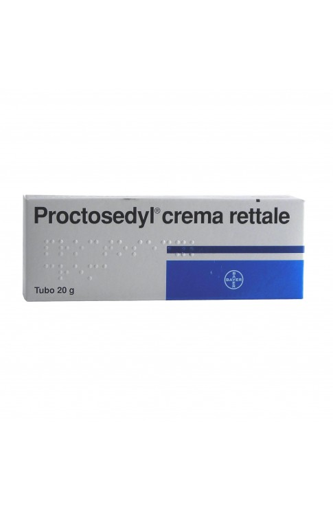 Proctosedyl*crema Rett 20g