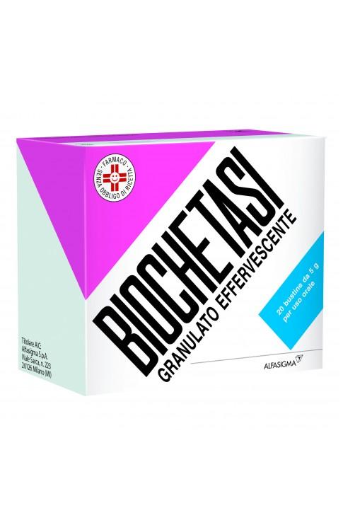 Biochetasi Granulato Effervescente 20 Bustine Arancia