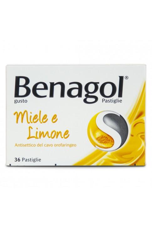 Benagol 36 Pastiglie Miele e Limone