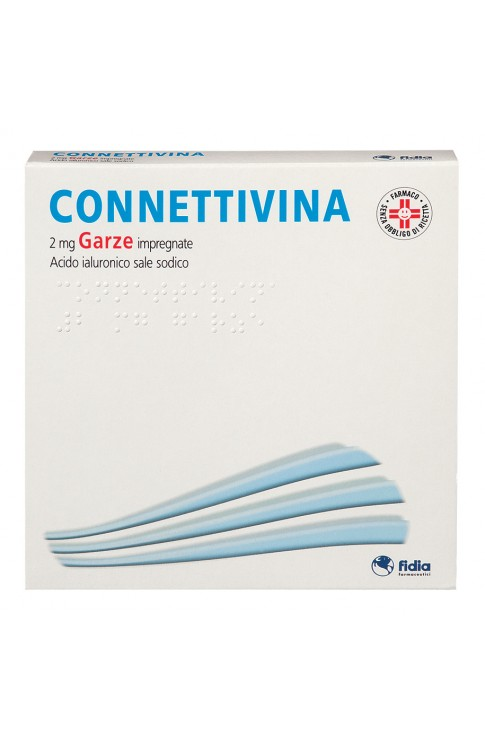 Connettivina 10 Garze 2mg 10 x 10