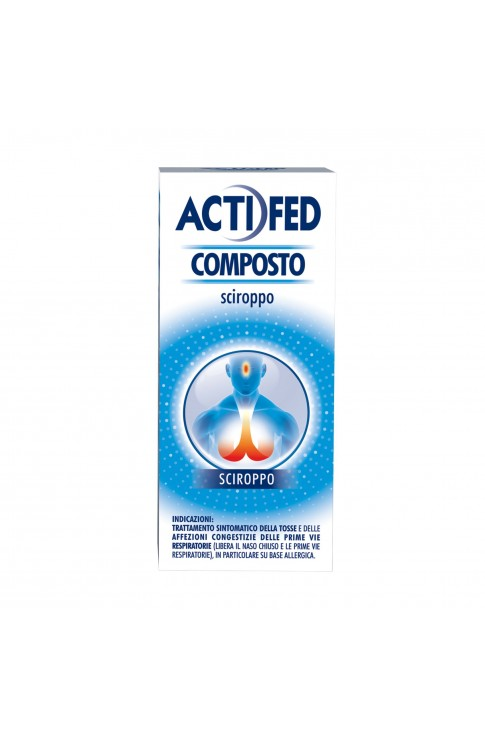 Actifed Composto Sciroppo 100 ml