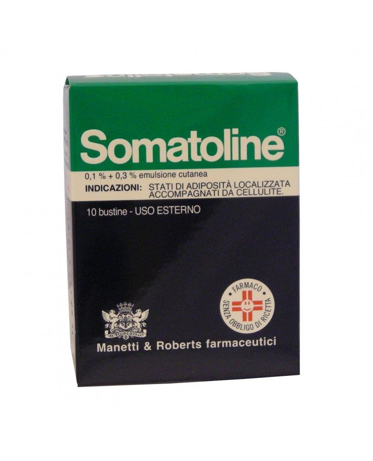 Somatoline*emuls 10bs 0,1+0,3%