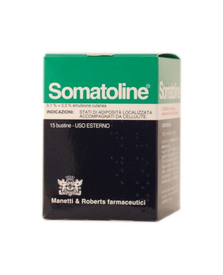 Somatoline Emulsione 15 Bustine 0,1 + 0,3%