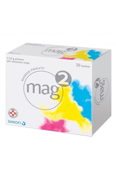 Mag2 Soluzione Orale 20 Bustine 2,25g
