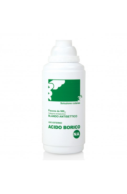 Acido Borico Soluzione Cutanea 3% 500ml