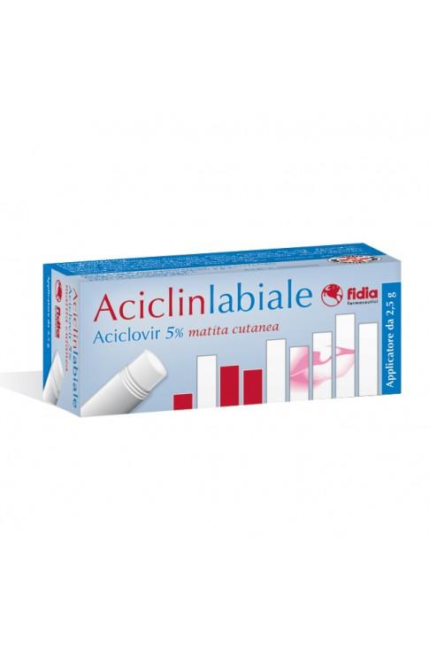 Aciclin Labiale Matita 2,5g 5%
