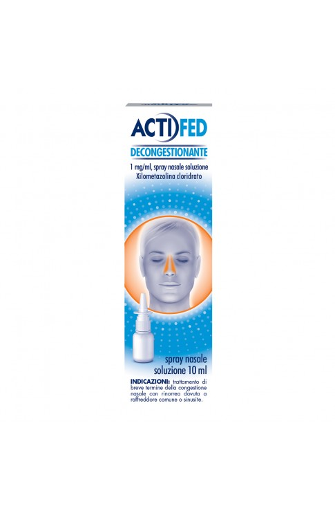 Actifed Decongestionante Nasale Spray Flacone 10ml