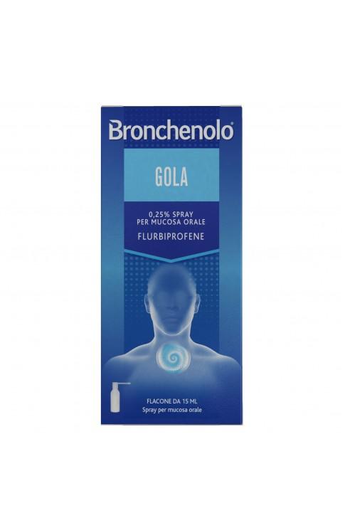 Bronchenolo Gola Spray 15ml