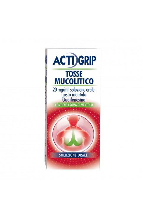 Actigrip Tosse Mucolitico Flacone 150 ml