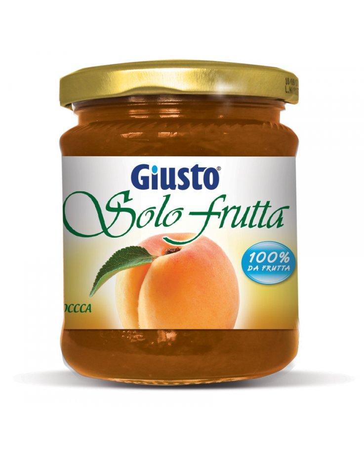 Giusto Solo Frutta Marmellata Albicocca