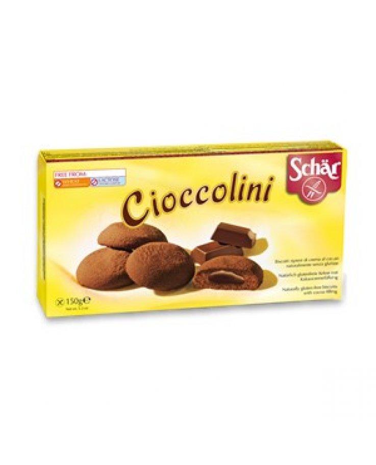 Bisc Schar Cioccolini 125g