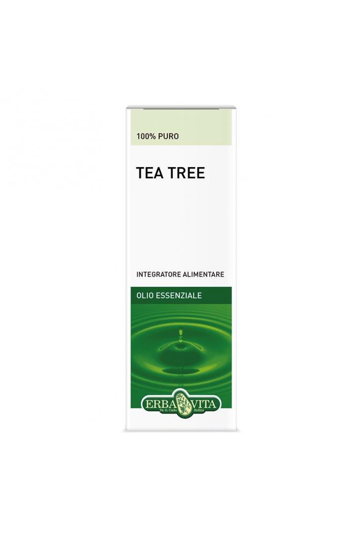 Olio Essenziale Tea Tree Oil 10ml Erbavita