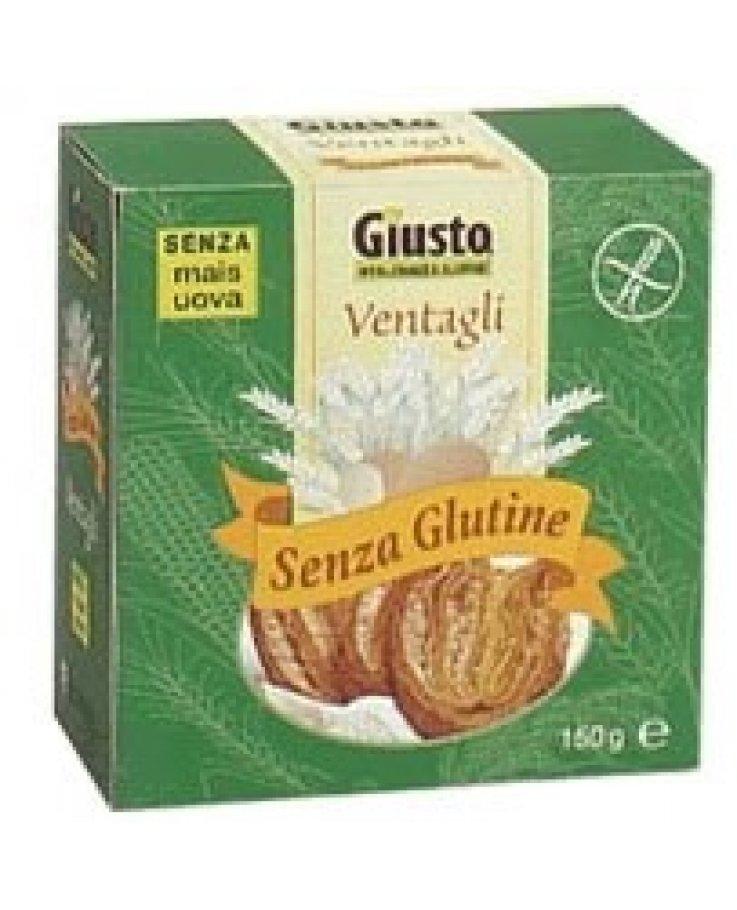 Giusto S/g Bisc Ventagli 150g