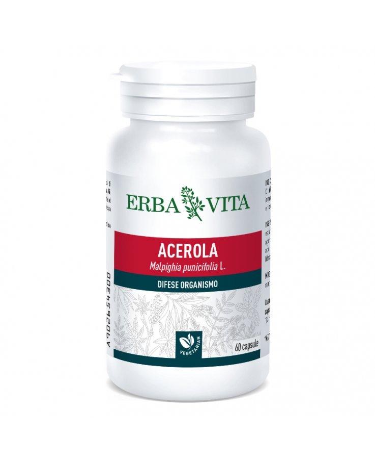 Acerola 60 Capsule 550mg Erbavita