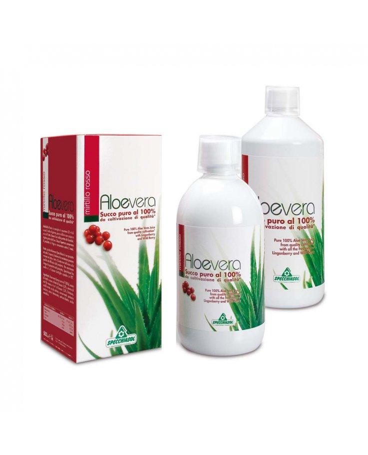 Aloe Puro Succo Mirt Ro 1000ml