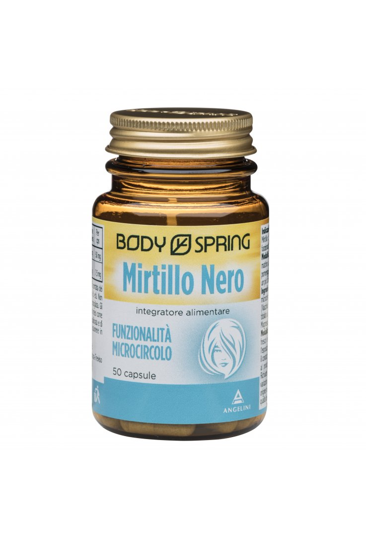 Body Spring Mirtillo Nero 50 Capsule
