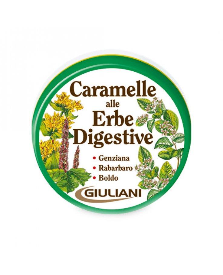 Caramelle Digestive Erbe Senza Zucchero