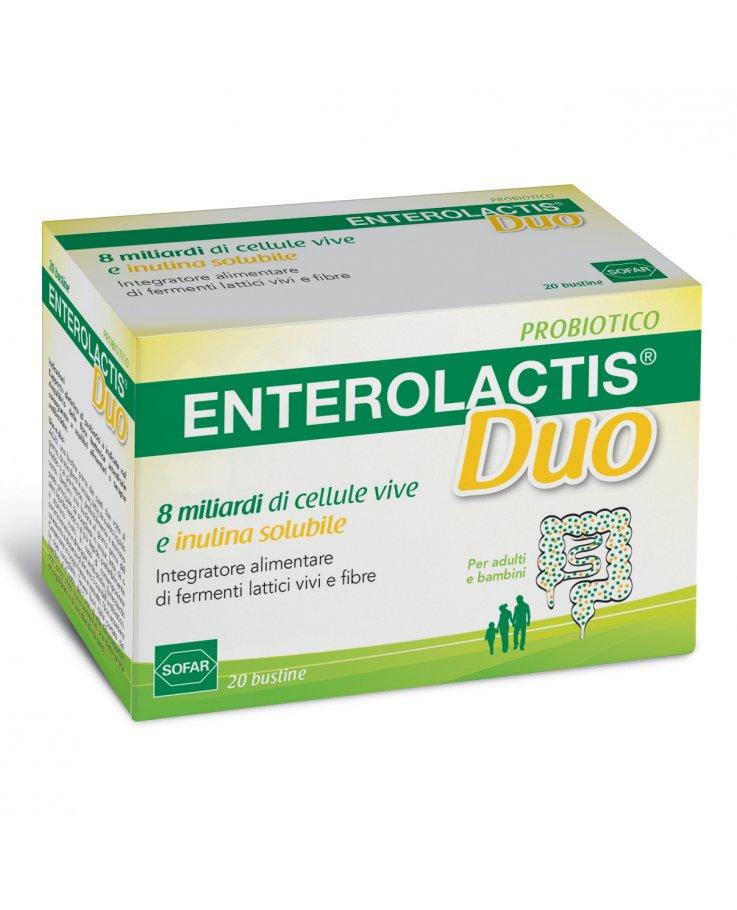 Sofar Enterolactis Duo Polvere 20 Bustine