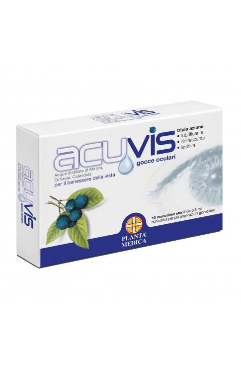 Acuvis Gocce Ocul 10fl 0,5ml